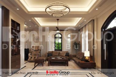 BÌA thiết kế nội thất biệt thự tân cổ điển 3 tầng đẹp tại vinhomes imperia hải phòng vhi 008
