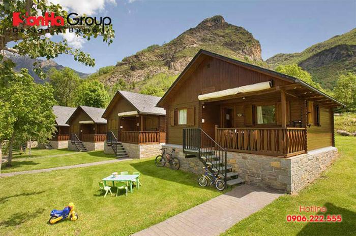 Bungalow là một kiểu nhà có diện tích nhỏ và chỉ xây 1 tầng