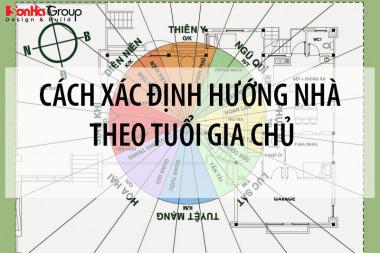 [Hướng dẫn] Cách xác định hướng nhà theo tuổi gia chủ đơn giản nhất 4