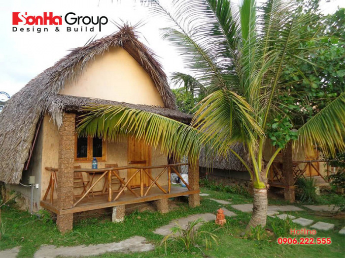Mẫu bungalow đẹp hút khách nhất hiện nay – Mẫu 2