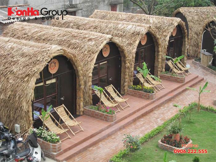 Mẫu bungalow đẹp hút khách nhất hiện nay – Mẫu 3