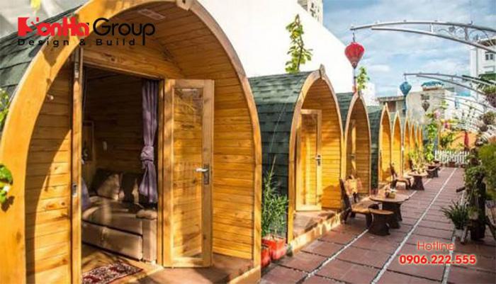 Mẫu bungalow đẹp hút khách nhất hiện nay – Mẫu 4