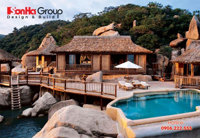 Mẫu bungalow đẹp hút khách nhất hiện nay – Mẫu 5