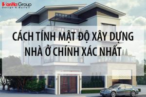[MỚI NHẤT 2020] Cách tính mật độ xây dựng nhà ở chính xác nhất 21