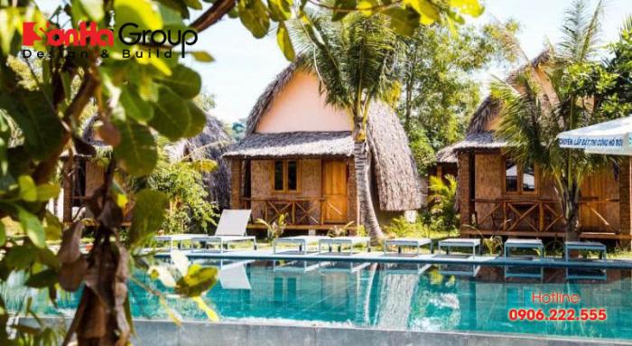 Thường tại Việt Nam các mẫu nhà Bungalow tập trung nhiều nhất tại các khu nghỉ dưỡng ven biển như Phú Quốc, Nha Trang, Đà Nẵng