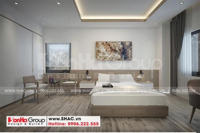 Ý tưởng bày trí nội thất phòng ngủ khách sạn tiêu chuẩn mini 2 sao được Chủ đầu tư rất hài lòng và đánh giá năng lực chuyên môn cao