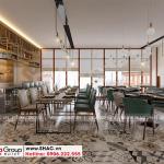 12 Mẫu nội thất nhà hàng khách sạn 2 sao tại bình dương
