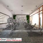 13 Không gian nội thất phòng tập gym khách sạn 6 tầng tại bình dương