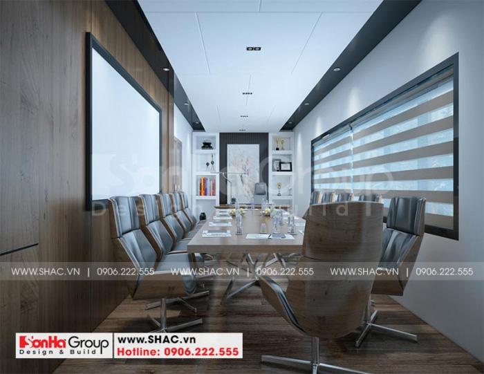 Phương án thiết kế phòng họp khách sạn phong cách hiện đại tại Bình Dương