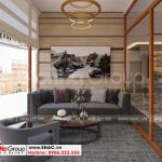 15 Bố trí nội thất phòng hút thuốc khách sạn mặt tiền 10m tại bình dương