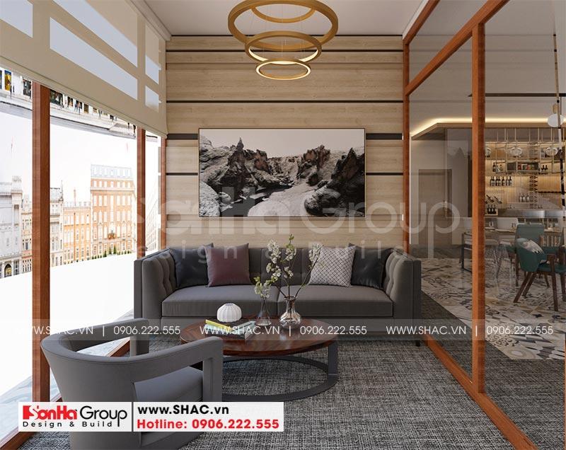 Mẫu nội thất khách sạn mini hiện đại 10m x 30m tiêu chuẩn 2 sao tại Bình Dương - SH KS 0084 20