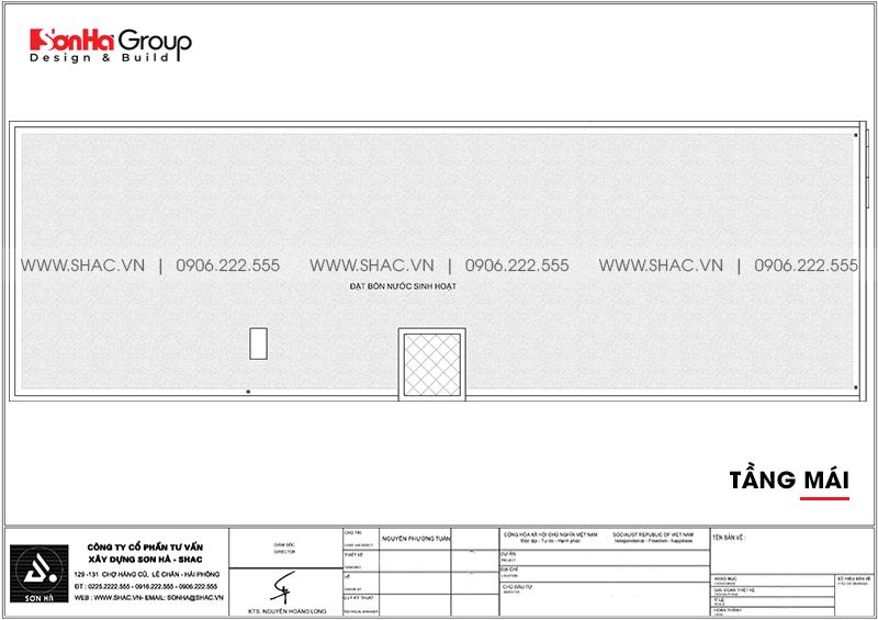 Mẫu nội thất khách sạn mini hiện đại 10m x 30m tiêu chuẩn 2 sao tại Bình Dương - SH KS 0084 5