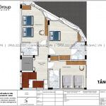 3 Bản vẽ tầng 2 3 4 5 khách sạn tân cổ điển 6 tầng tại nha trang sh ks 0072