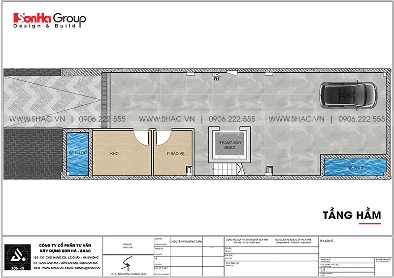 Thiết kế khách sạn mini 2 sao phong cách tân cổ điển tại Sài Gòn – SH KS 0071 3