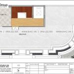 5 Bản vẽ tầng tum nhà ống tân cổ điển mặt tiền 8,7m tại hà nội sh nop 0205