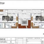 6 Bản vẽ tầng 2 3 khách sạn kiểu tân cổ điển tại sài gòn sh ks 0071