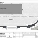 6 Mặt bằng tầng mái nhà ống kiểu tân cổ điển đẹp tại hà nội sh nop 0205