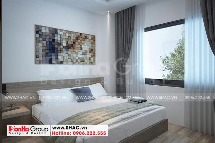 Nội thất phòng ngủ khách sạn 2 sao tạo nên cái nhìn đầy thiện cảm, thân thuộc và gần gũi cho Du khách khi dừng chân tại đây