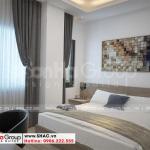 8 Không gian phòng ngủ khách sạn 6 tầng tại bình dương