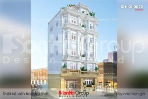 BÌA khách sạn tân cổ điển 3 sao 6 tầng tại nha trang sh ks 0072