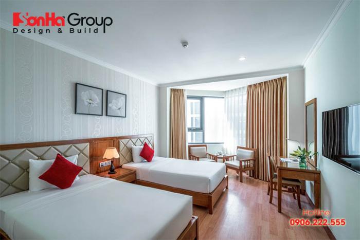 Connecting room phù hợp các đối tượng khách gia đình hoặc đi theo nhóm