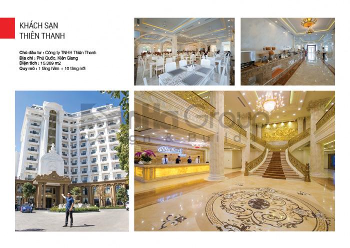 Sơn Hà Group tự hào là đơn vị thiết kế khách sạn quốc tế 5 sao Thiên Thanh
