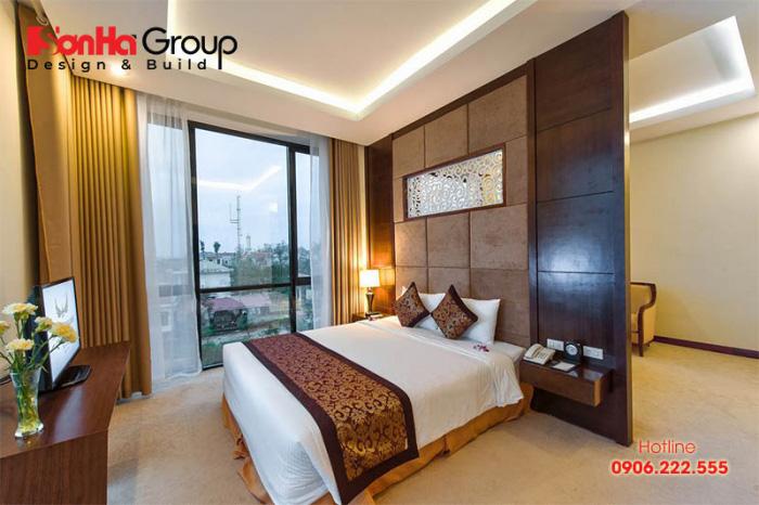Phòng Superior thường ở các tầng cao hơn so với phòng Standard