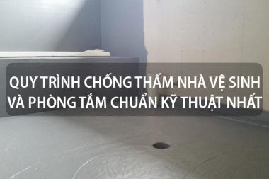 Quy trình chống thấm nhà vệ sinh và phòng tắm chuẩn kỹ thuật nhất 4