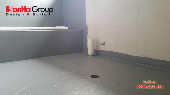 Quy trình chống thấm nhà vệ sinh và phòng tắm chuẩn kỹ thuật nhất