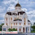 1 Thiết kế biệt thự lâu đài đẹp tại hà nam sh btld 0043