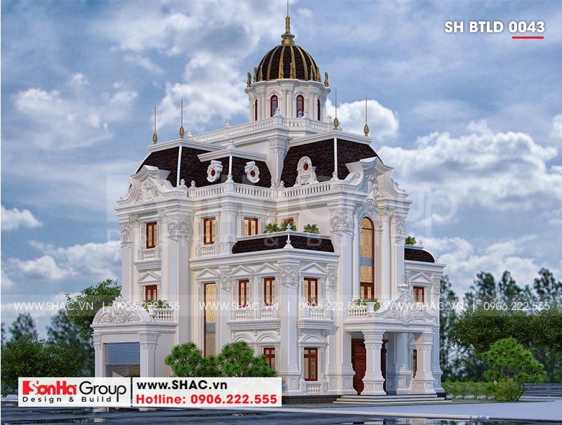 Lộ diện siêu biệt thự lâu đài 3 tầng trăm tỷ của đại gia Hà Nam – SH BTLD 0043 1