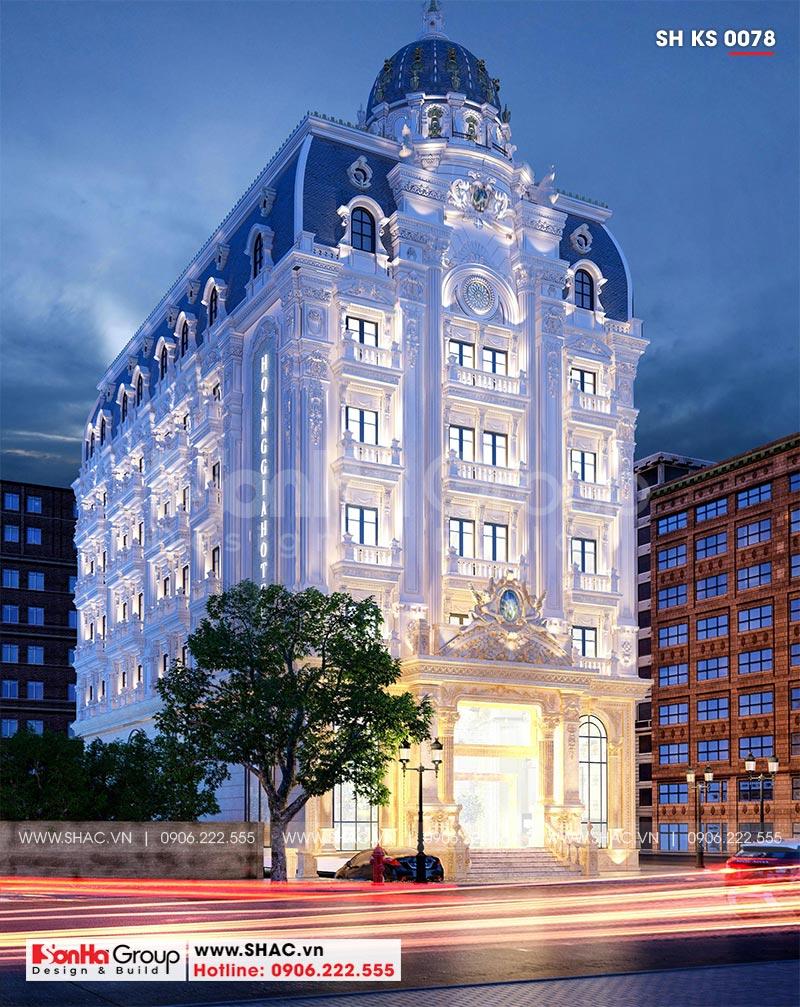 Khách sạn tân cổ điển 3 sao tại Hà Nội thiết kế thời thượng từ mọi góc – SH KS 0078 3