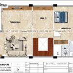 12 Bản vẽ tầng 2 biệt thự tân cổ điển tại vinhomes marina vhi 009