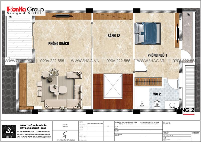 Mẫu thiết kế nội thất biệt thự tân cổ điển thời thượng tại Vinhomes Marina Cầu Rào 2 12