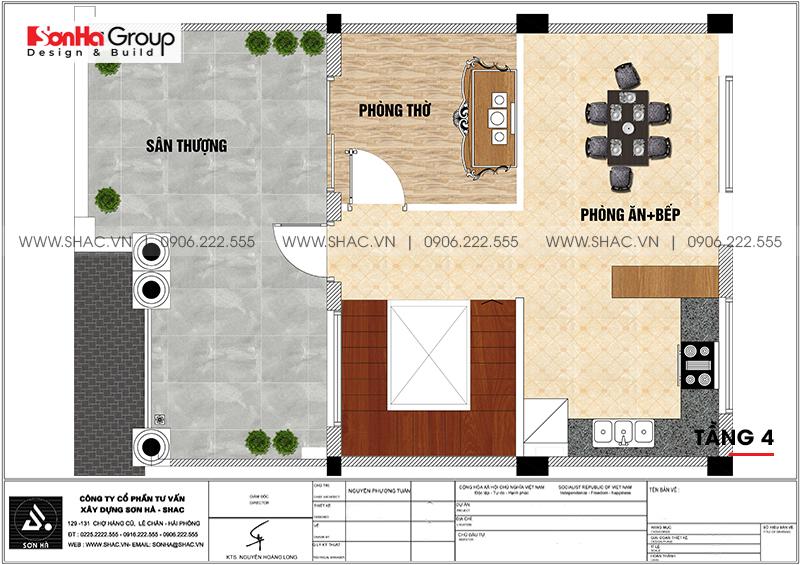 Mẫu thiết kế nội thất biệt thự tân cổ điển thời thượng tại Vinhomes Marina Cầu Rào 2 14