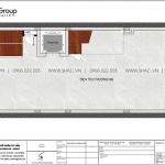 15 Bản vẽ tầng 2 nhà ống liền kề 5 tầng tại waterfront wfc 009