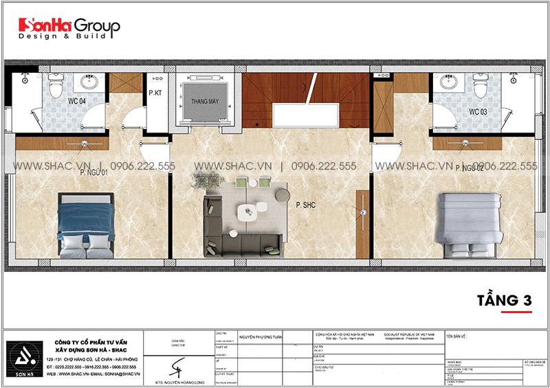 Thiết kế nội thất nhà phố hiện đại kết hợp kinh doanh 5 tầng tại Waterfont City Hải Phòng 14