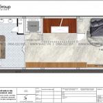 17 Bản vẽ tầng 4 nhà ống liền kề có 3 phòng ngủ tại waterfront wfc 009