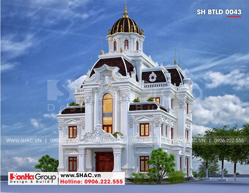 Lộ diện siêu biệt thự lâu đài 3 tầng trăm tỷ của đại gia Hà Nam – SH BTLD 0043 2