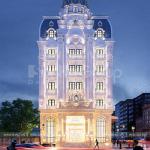 2 Mẫu khách sạn tân cổ điển 6 tầng tại hà nội sh ks 0078