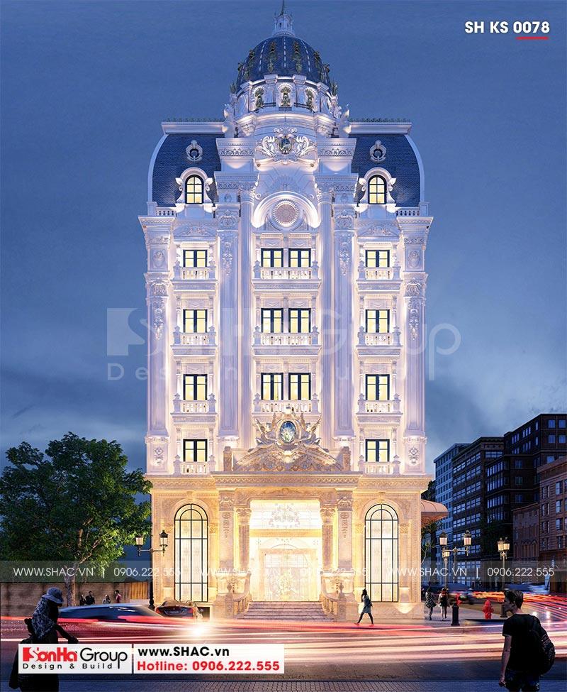 Khách sạn tân cổ điển 3 sao tại Hà Nội thiết kế thời thượng từ mọi góc – SH KS 0078 1