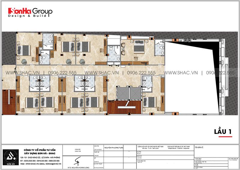 Khách sạn tân cổ điển 3 sao tại An Giang hạ gục mọi ánh nhìn – SH KS 0077 3