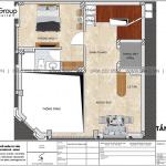 3 Bản vẽ tầng lửng khách sạn mini kiểu tân cổ điển tại quảng ninh sh ks 0079