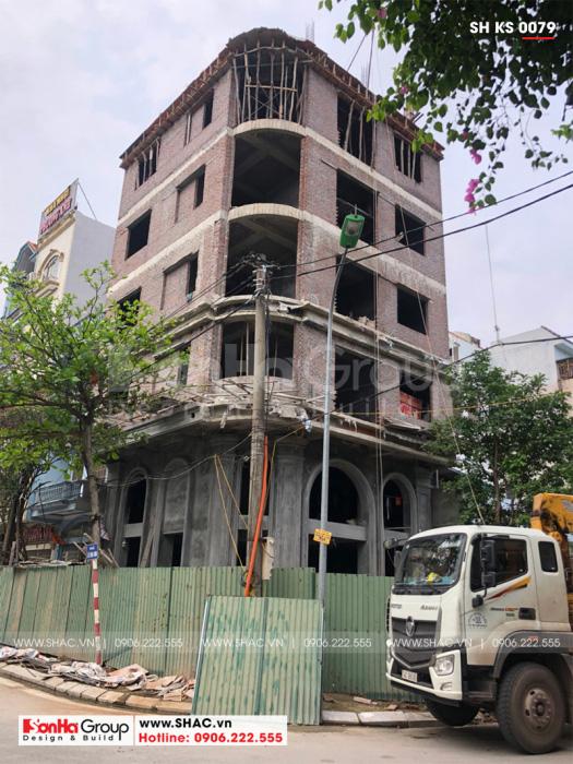 3 Khách sạn 5 tầng tân cổ điển tiêu chuẩn 2 sao tại quảng ninh sh ks 0079