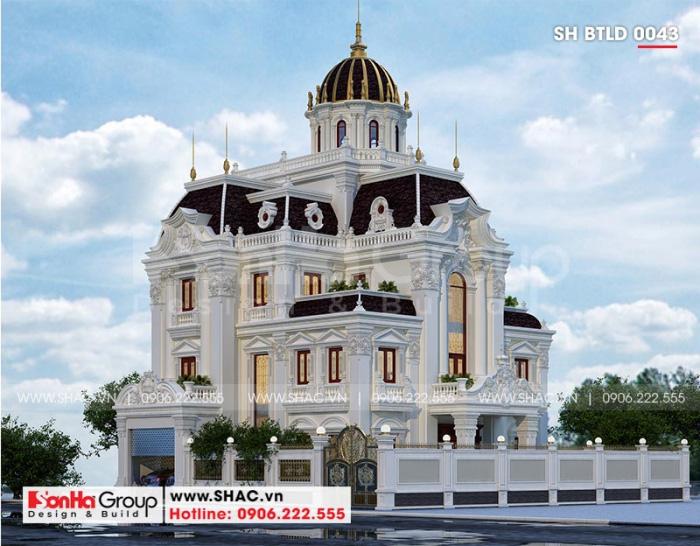 Thiết kế biệt thự lâu đài 3 tầng này đẹp như trong truyện cổ tích