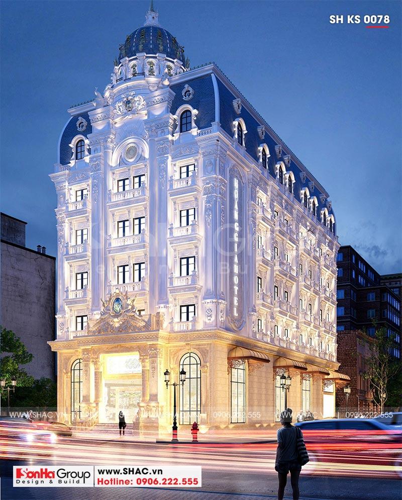 Khách sạn tân cổ điển 3 sao tại Hà Nội thiết kế thời thượng từ mọi góc – SH KS 0078 2