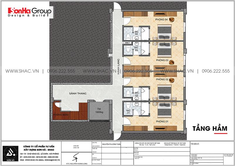 Kinh doanh đại thắng với thiết kế khách sạn hiện đại mini phong thủy tại Quảng Ninh – SH KS 0076 3