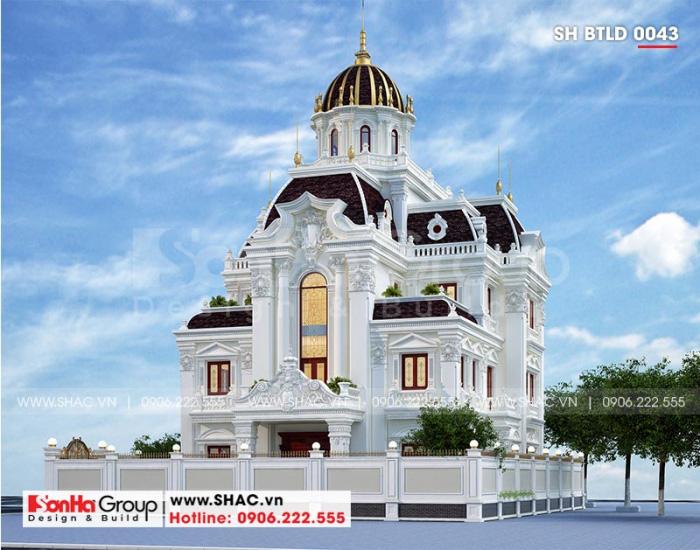 Cung điện lâu đài được thiết kế hoàn hảo và hội tụ tinh hoa kiến trúc