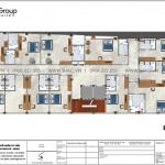 4 Mặt bằng lầu 2 3 4 khách sạn tân cổ điển mặt tiền 14,4m tại an giang sh ks 0077
