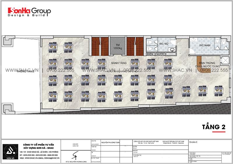 Mẫu thiết kế khách sạn tân cổ điển 3 sao mới nhất tại Phú Quốc (Kiên Giang)- SH KS 0075 4